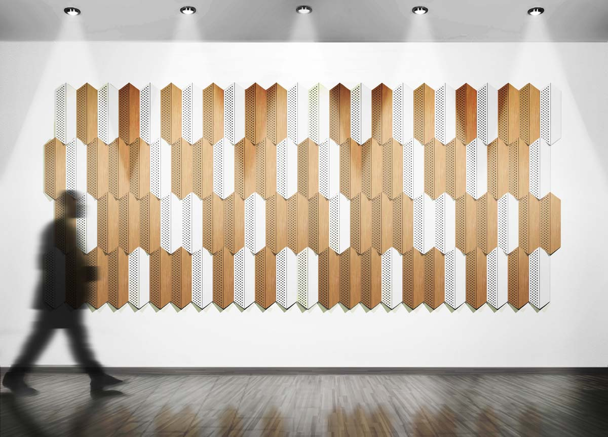 acoustical fabric systems about us - Fabric Wall Designs